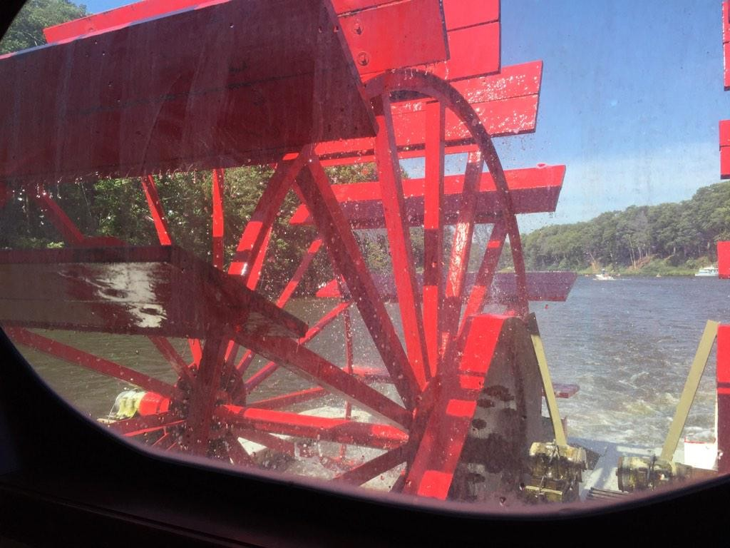 The Star of Saugatuck Paddle Wheeler