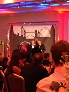 Matt at the Agile Awards